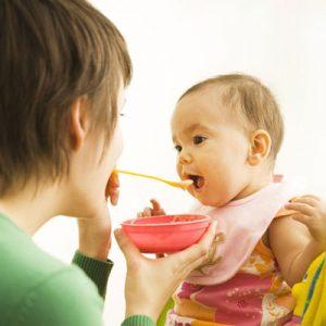 سرلاک برای نوزاد هفت ماهه