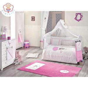 سرویس خواب Kidboo Cute Bear Pink
