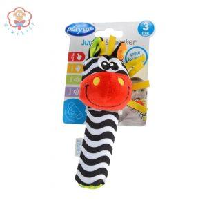عروسک سوسیسی گورخر سوتی Playgro