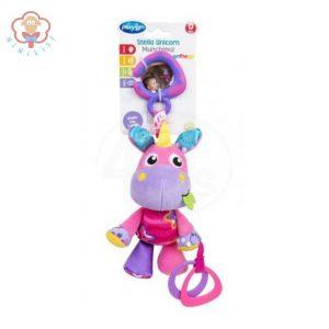عروسک گیره دار اسب شاخدار Playgro