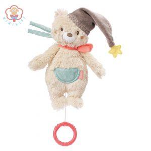 عروسک خرس مینی موزیکال نخ کش