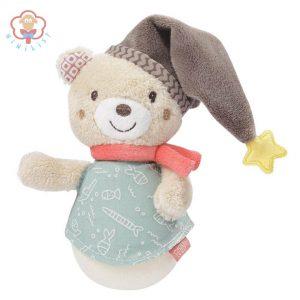 جغجغه نوزاد طرح خرس بیبی فن