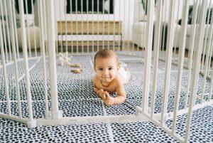 پیشگیری از حوادث و تامین امنیت نوزاد