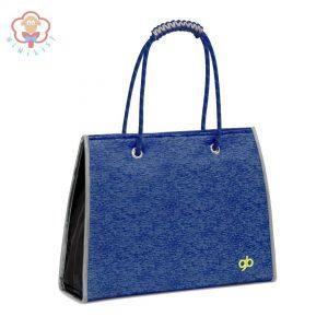 کیف لوازم مادر آبی مدل ماریس