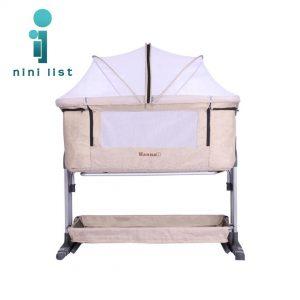 تخت کنار مادرHannah مدل Amor کرم