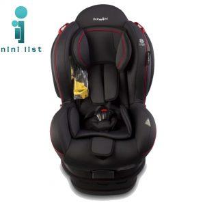 صندلی ماشین ایزوفیکس تاجدار Baby4life مشکی